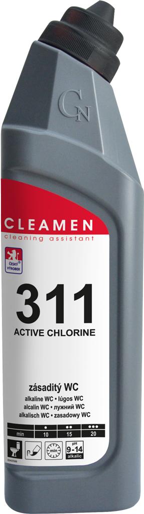 Cleamen 311 zásaditý WC 750 ml