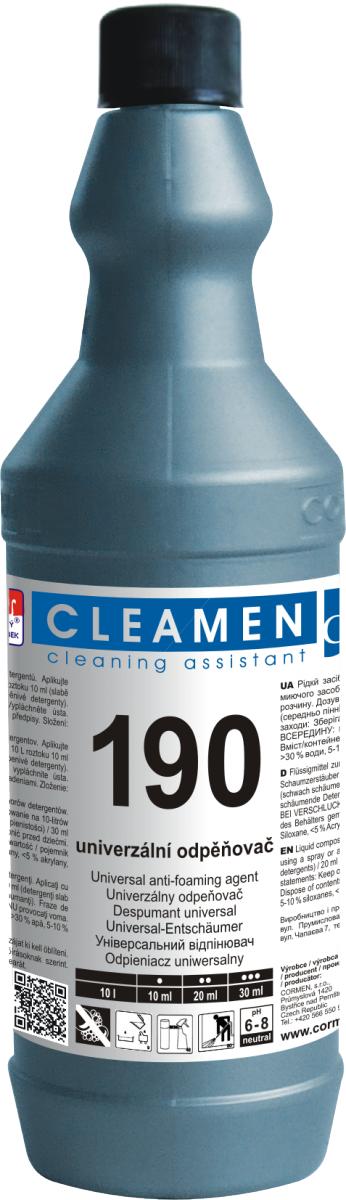 CLEAMEN 190 odpěňovač 1 l