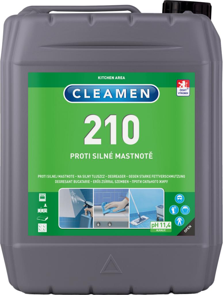 CLEAMEN 210 proti silné mastnotě 5 l