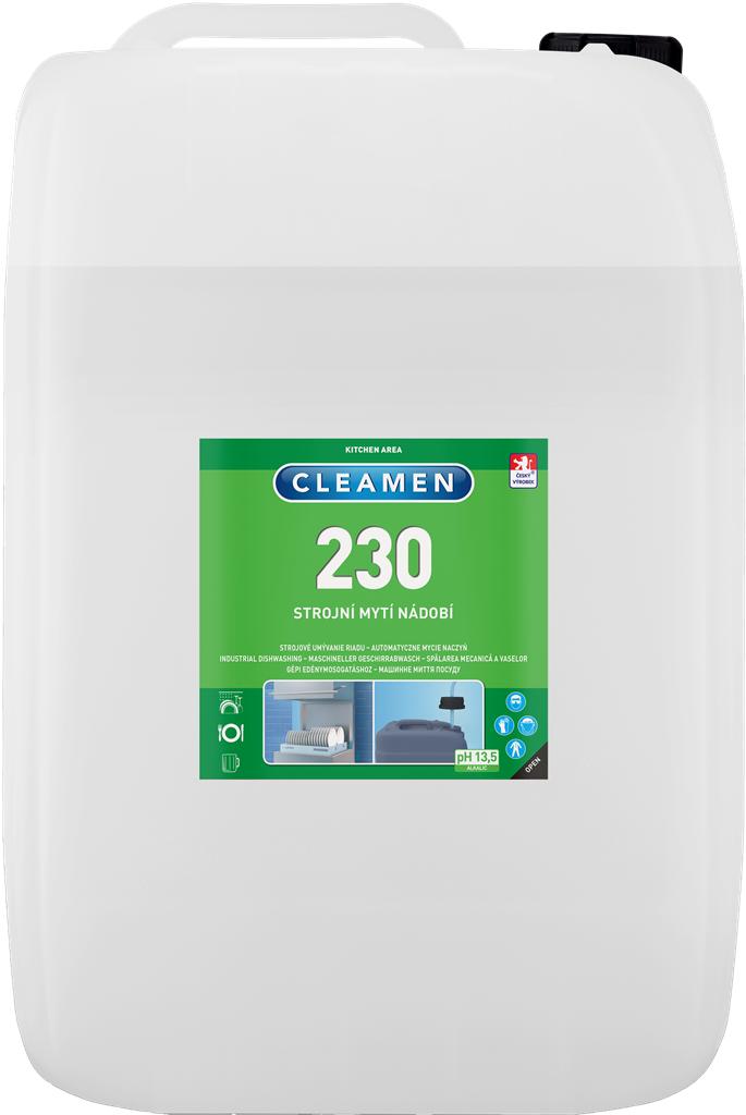 CLEAMEN 230 strojní mytí nádobí 24 kg
