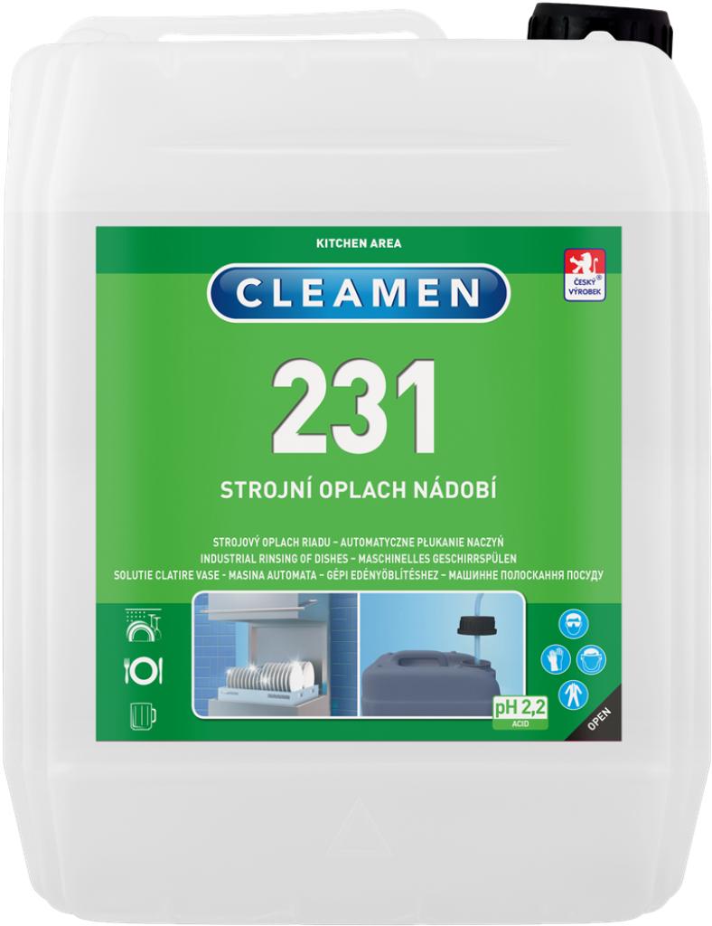 CLEAMEN 231 strojní oplach nádobí 5 kg
