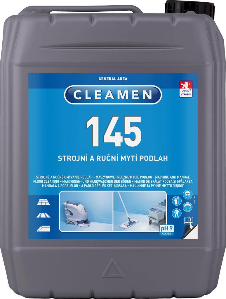 CLEAMEN 145 strojní a ruční mytí podlah 5 l
