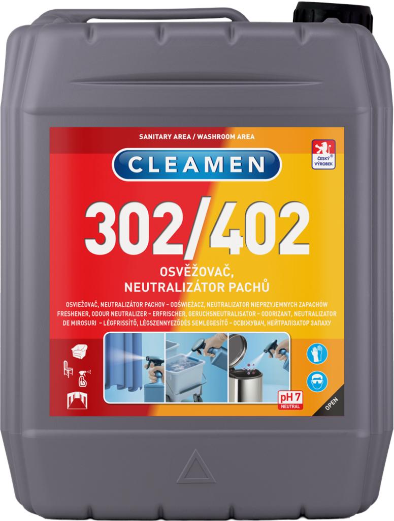 CLEAMEN 302/402 osvěžovač – neutralizátor pachů 5 l
