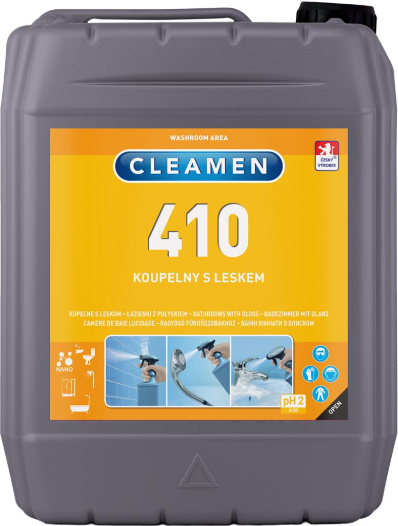 CLEAMEN 410 koupelny s leskem 5 l