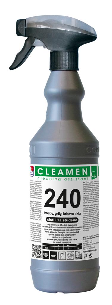 CLEAMEN 240 trouby, grily, krbová skla 1,1kg