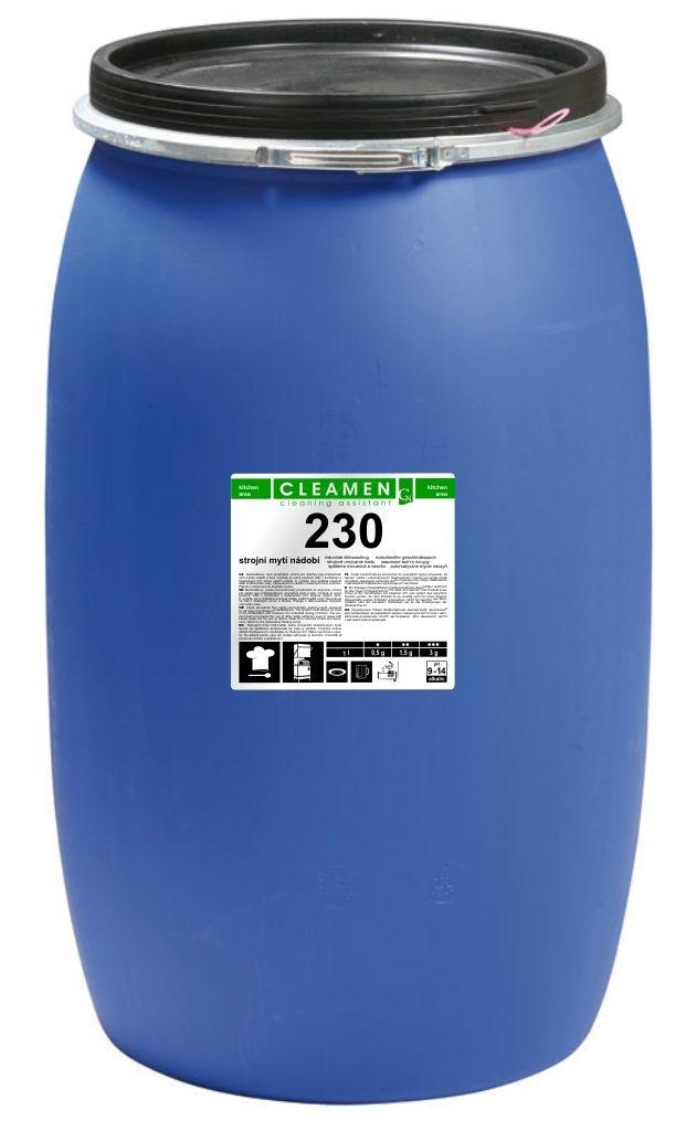CLEAMEN 230 strojní mytí nádobí 240kg