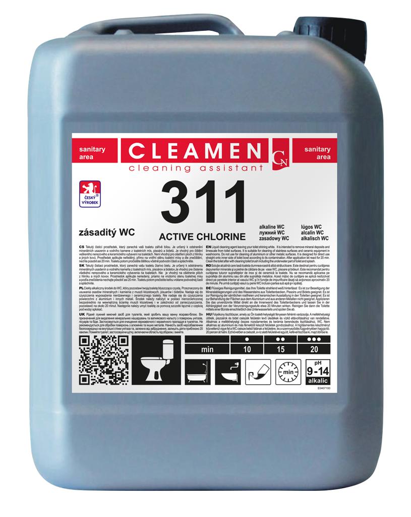 CLEAMEN 311 zásaditý WC 5 l