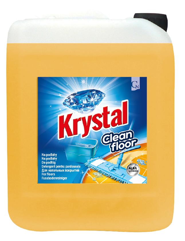 KRYSTAL na podlahy Alfaalkohol 5L