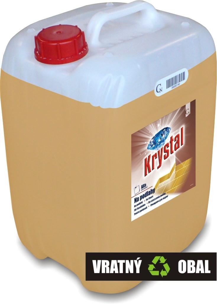KRYSTAL na podlahy ALFAalkohol 20 L