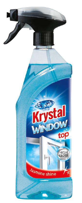 KRYSTAL na okna s rozprašovačem 750ml