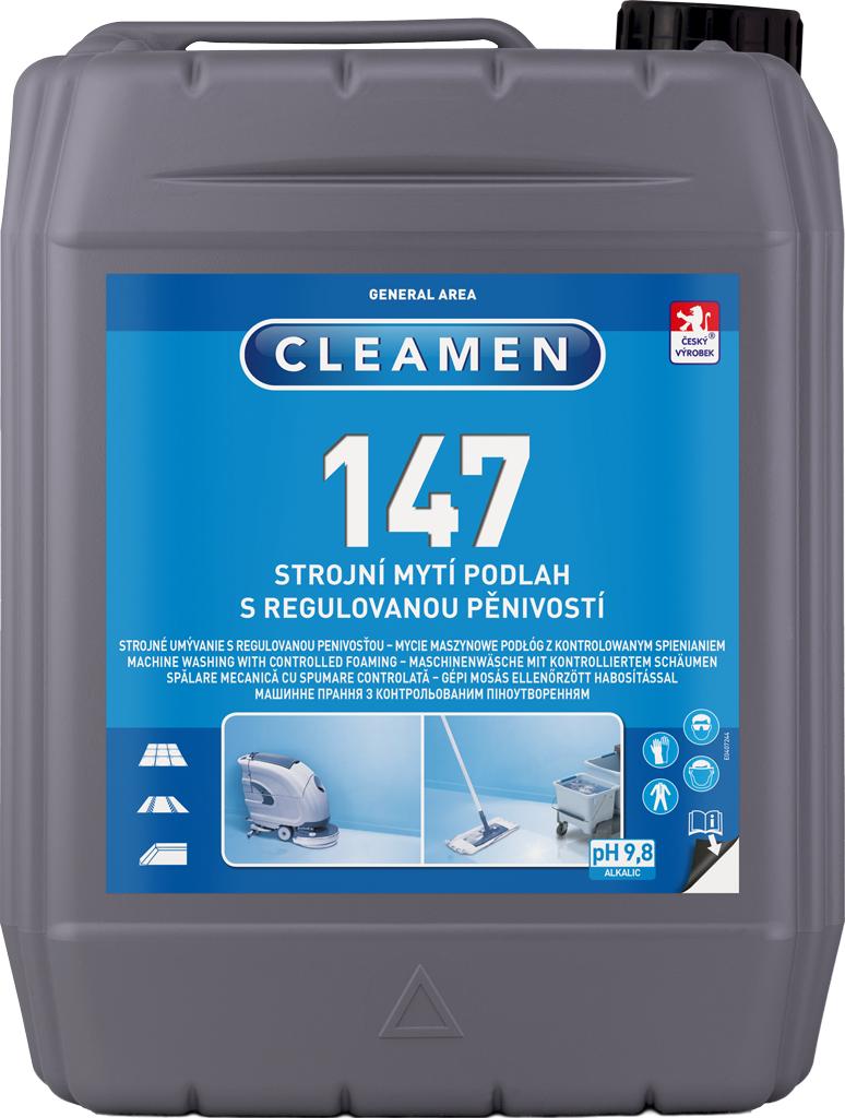 CLEAMEN 147 strojní mytí podlah s regulovanou pěnivostí 5 l